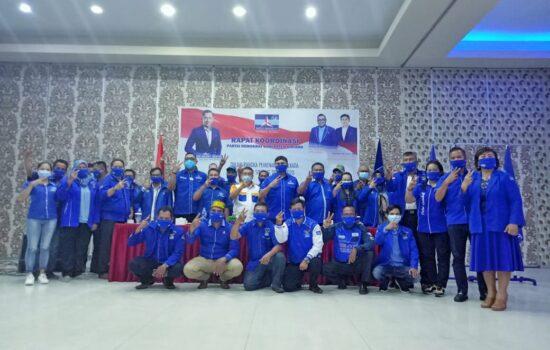 DPP Partai Demokrat Sintang Gelar Rakor