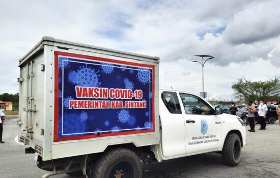 4.760 Vaksin Sinovac Tiba di Sintang, Tahap Pertama Untuk Nakes