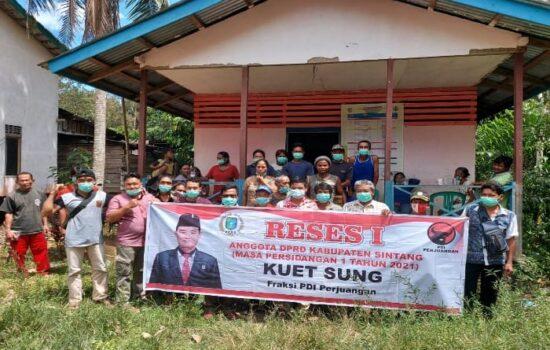 Desa Mentunai Butuh Dukungan Infrastruktur