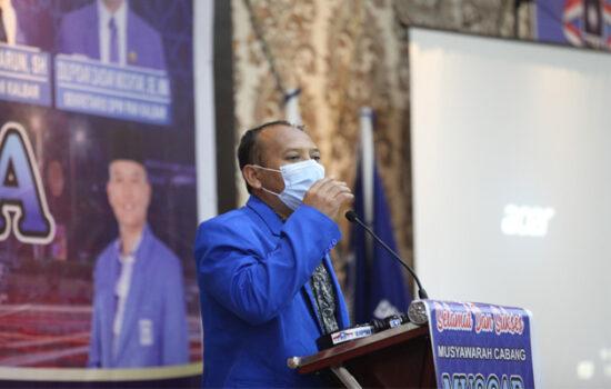 Pileg 2024, PAN Sintang Targetkan Unsur Pimpinan di DPRD