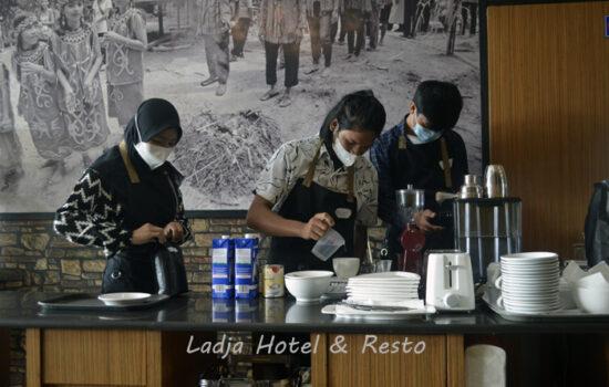 Ladja Resto Kolaborasi Dengan Barista
