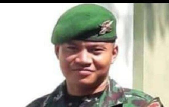Anggota TNI Asal Sintang Gugur Diserang KST