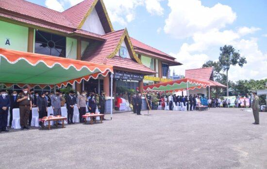 Pemkab Sintang Gelar Upacara Pelepasan Jenazah Wakil Bupati Sudiyanto
